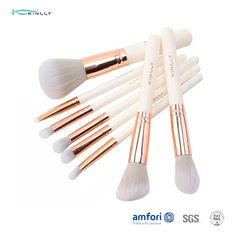 8pcs Women Aluminum Ferrule Face Makeup Brush Set