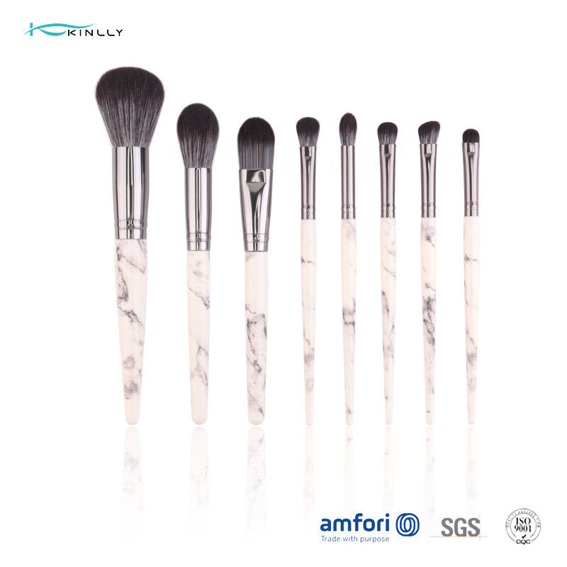 Marble Synthetic Hair Makeup Brush